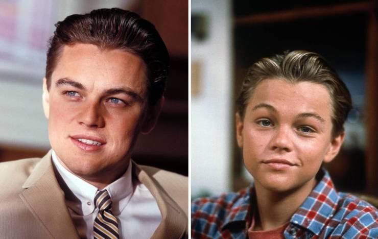 Celebrities Playing Teenagers Vs Them Back In Their Teenage Years