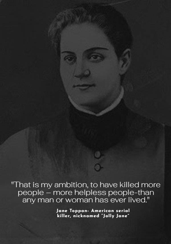Unsettling Quotes By Serial Killers…