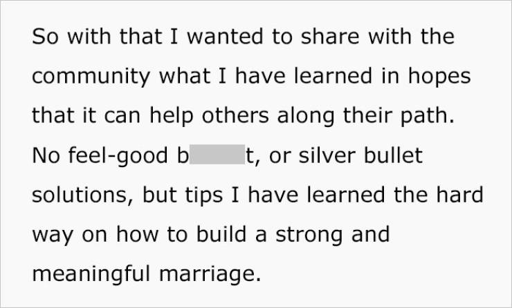 Man Shares His Experience After 20 Years Of Marriage
