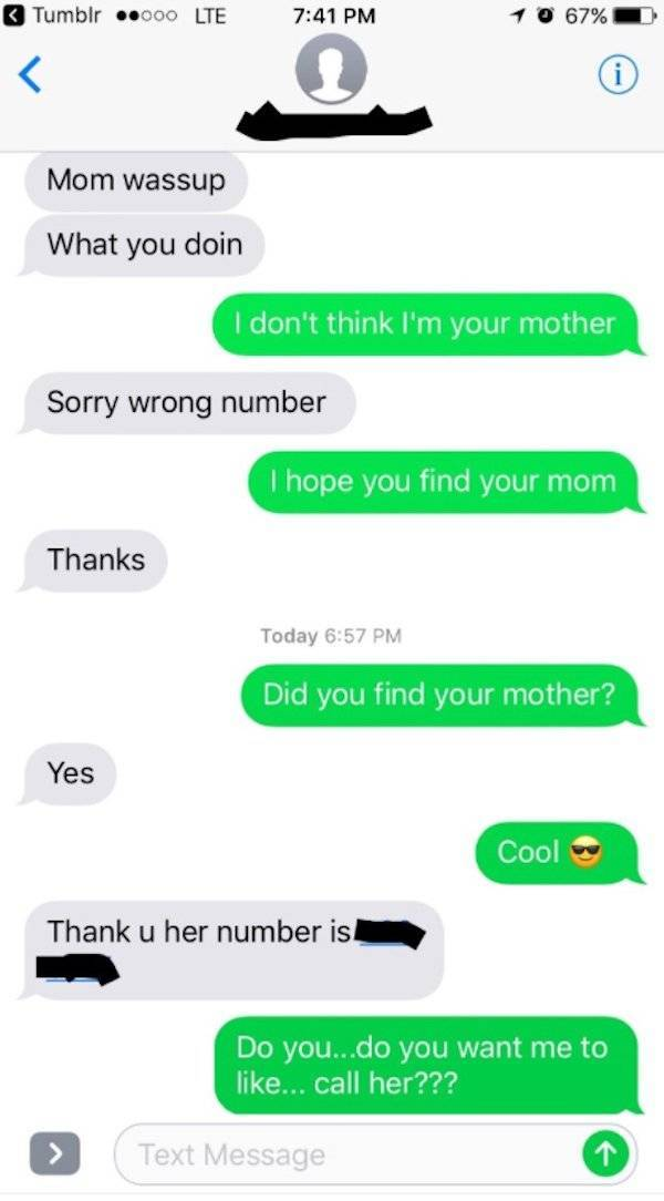 Wrong! Wrong Number!