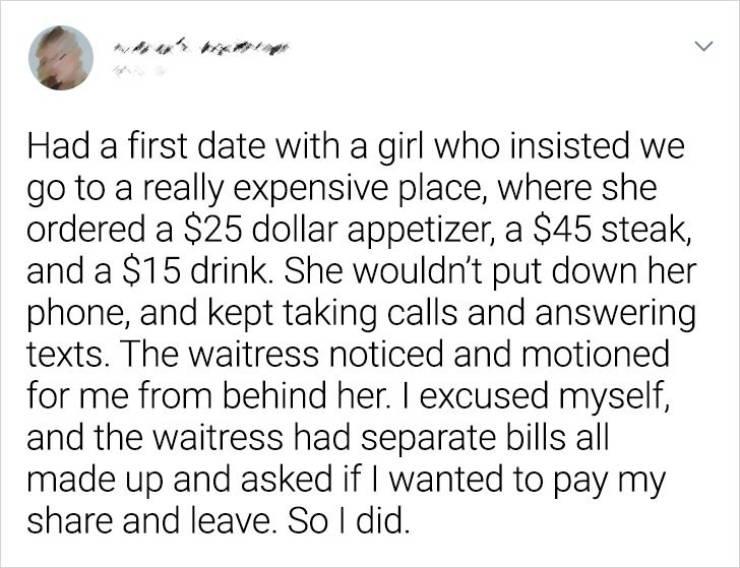 Worst Dates, Best Stories…