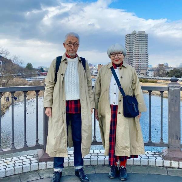 Married For 41 Years, Still Wearing Matching Outfits Every Day