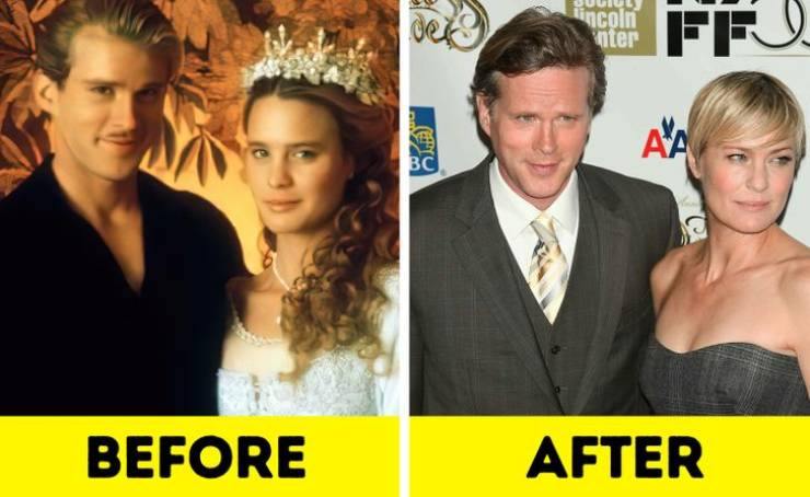 Famous On-Screen Couples: Then Vs These Days