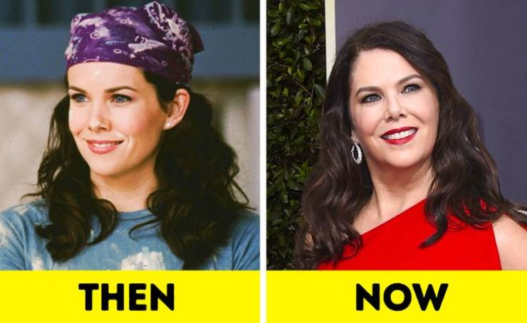 """""""Gilmore Girls"""" Cast: Then Vs These Days"""