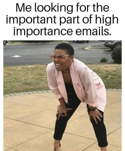 Work Memes Don't Make Work Easier…