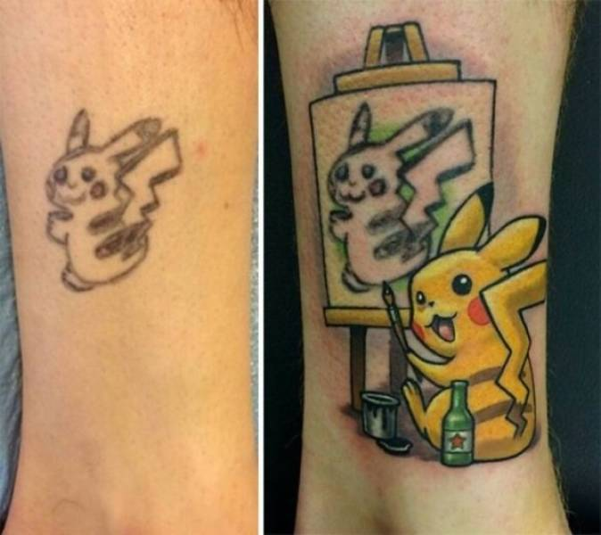 Even Bad Tattoos Can Be Saved!