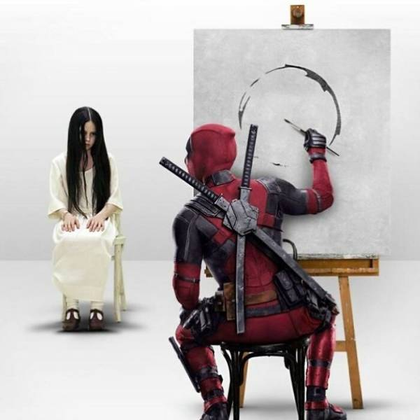 Digital Artist Cleverly Mixes Characters From Different Movies And TV Shows