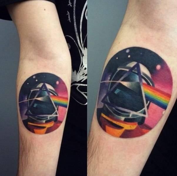 Amazingly Colorful Tattoo Works By Sasha Unisex