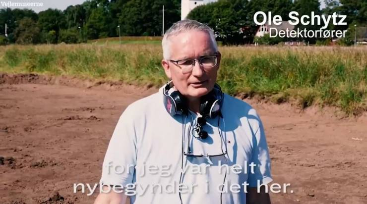 Danish Man Finds Vikings' Gold After Spending A Couple Of Hours With His New Metal Detector