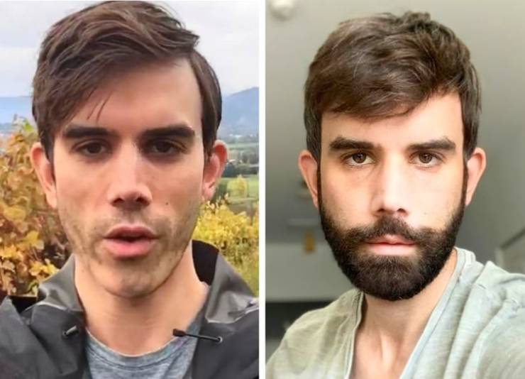 Beard Makes All The Difference!