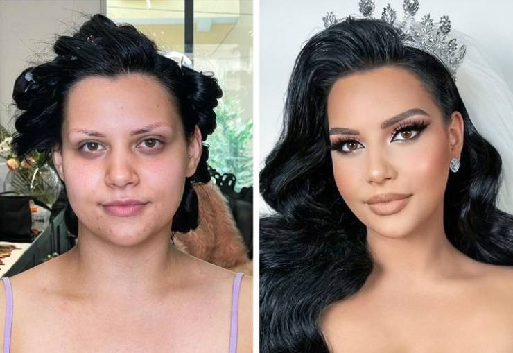 These Bridal Makeovers Look Like Real-Life Magic!