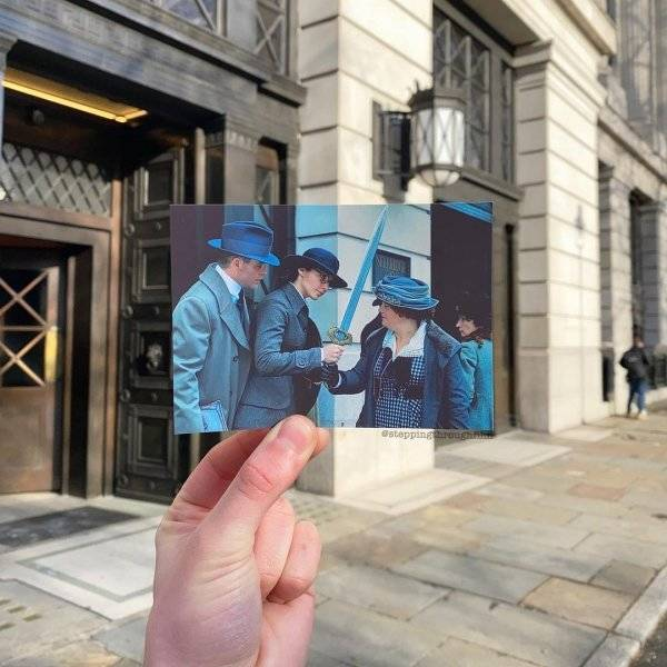 Photographer Matches Movie Frames With Their Real-Life Locations