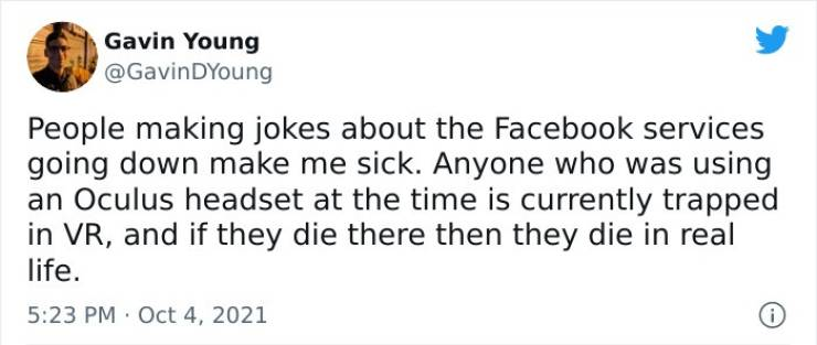 """Internet's Funniest Reactions To """"Facebook"""" Outage"""
