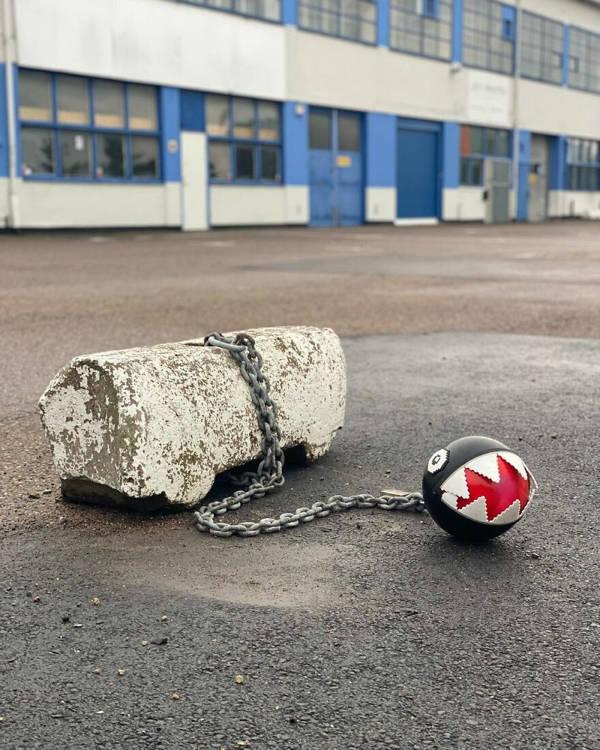 Swedish Street Artist Johan Karlgen And His Pixel Style