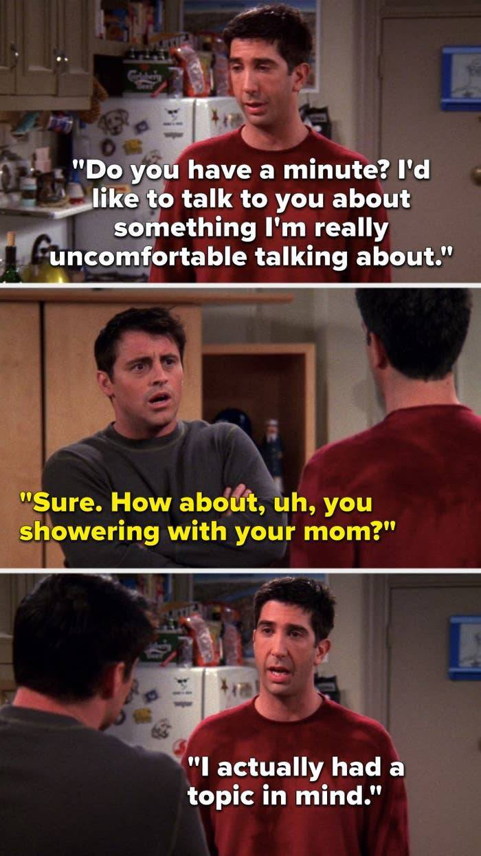 """Some Of The Greatest Jokes From """"Friends"""""""