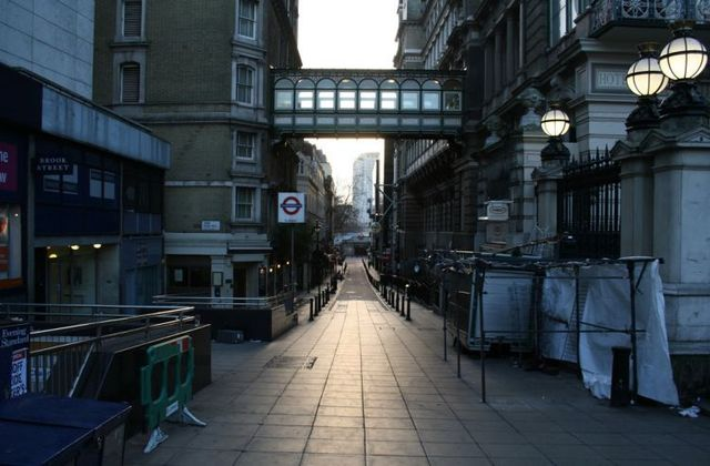 London the next morning after Christmas (41 photos)