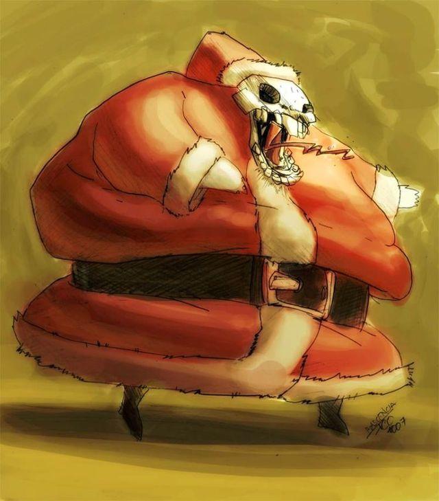 Pics with Santas (64 pics)