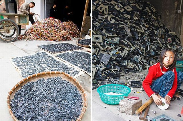 A town of e-waste (12 pics)