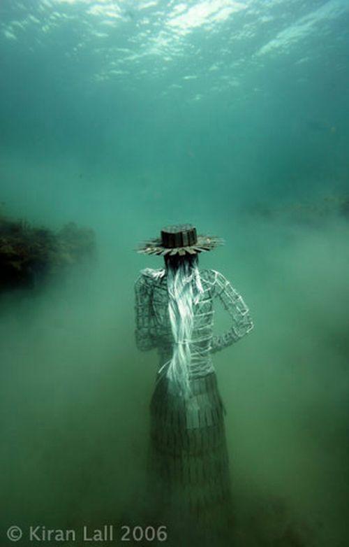 Underwater sculptures (60 pics)