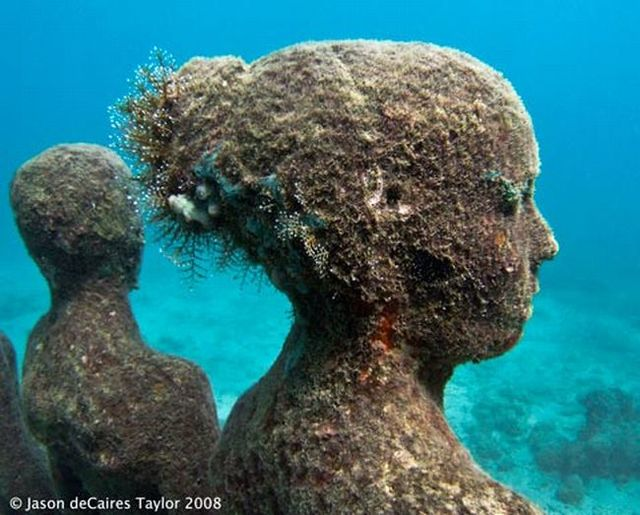 Underwater sculptures (60 pics)