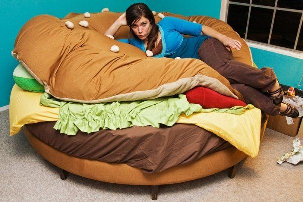 An unusual bed (11pics)