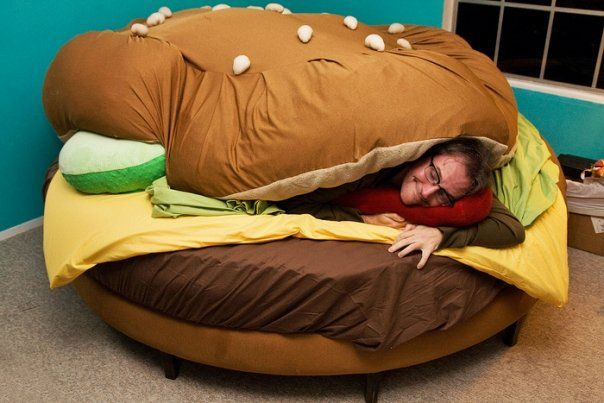 An unusual bed (11pics)