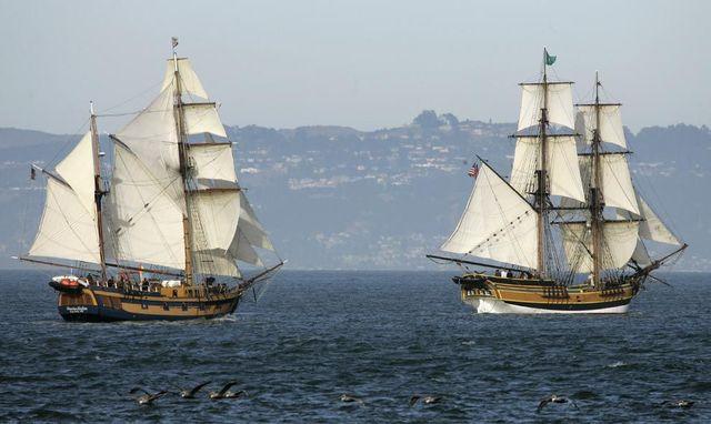 Sailing, around the world (30 pics)