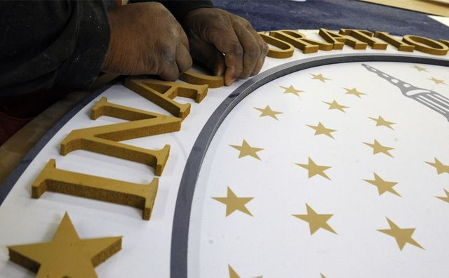 Preperations for Obama's inauguration (31 pics)
