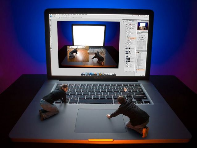Photoshop in real life (30 photos)