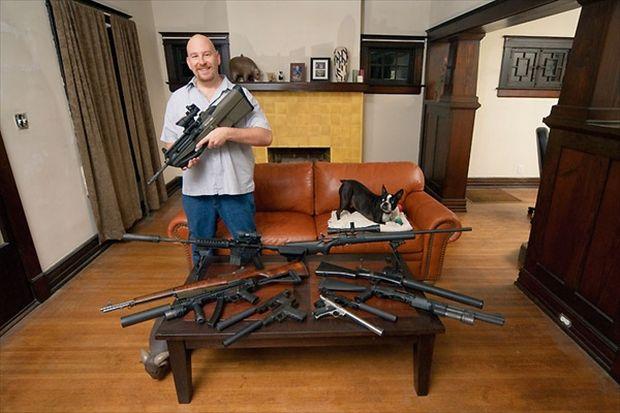 Armed America (17 pics)
