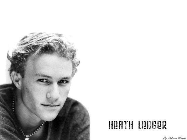 Heath Ledger. One year later (30 pics)