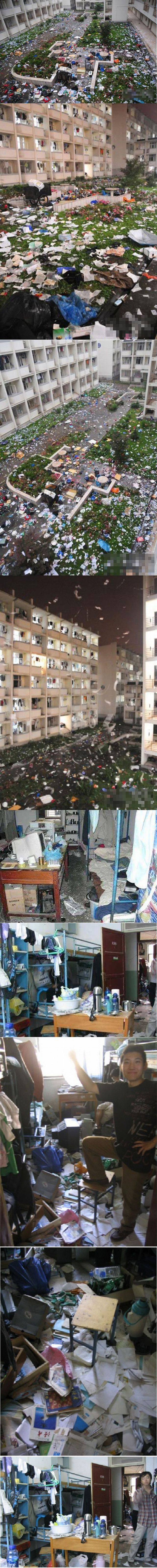 Incredible Chinese dorm (10 pics)