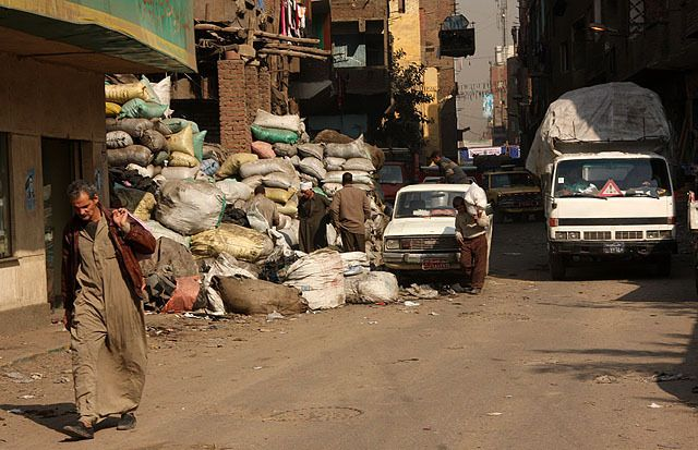 Cairo. Trash City (33 photos)