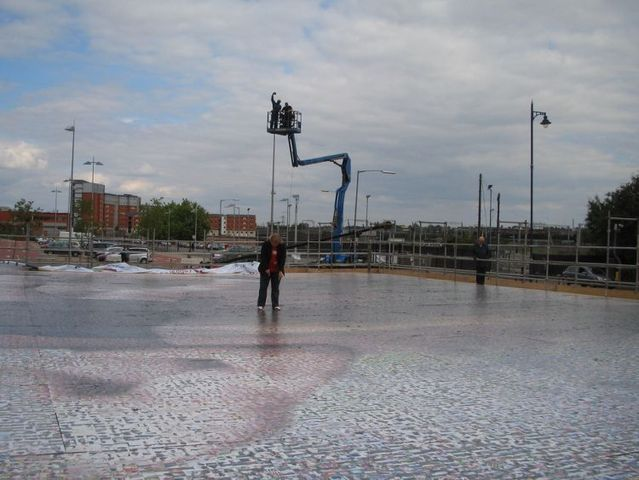 The biggest photographic mosaic in the world (20 pics)