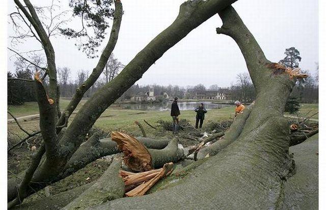 Fierce storm in Europe (17 pics)