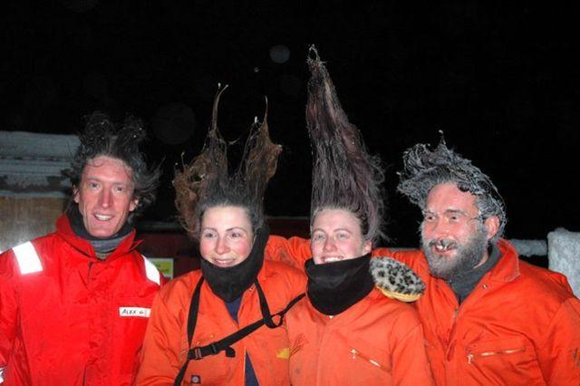 Frozen hair (20 pics)