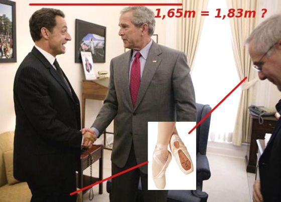 It's difficult to be a small President (16 pics)