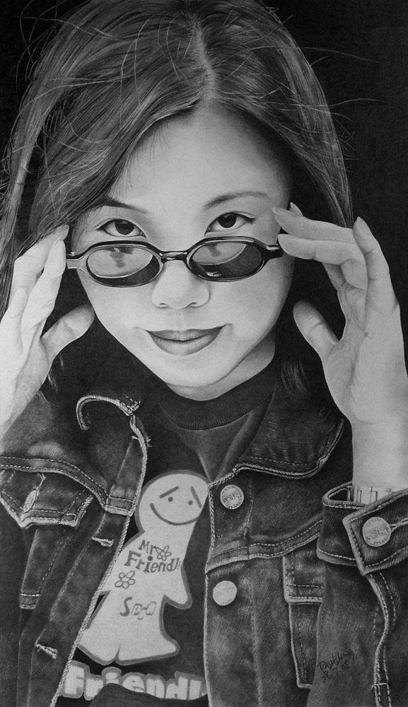 Pencil drawings (49 pics)
