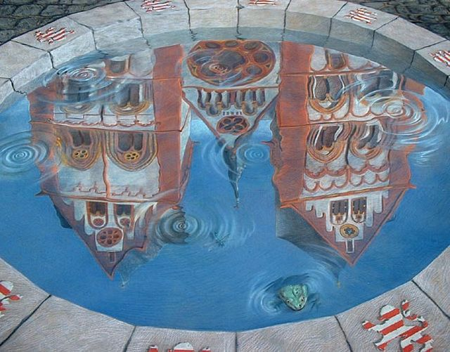 Street 3D paintings (135 pics)