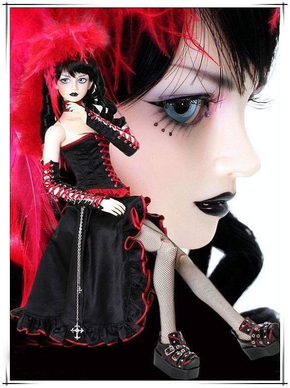 Gothic dolls (42 pics)