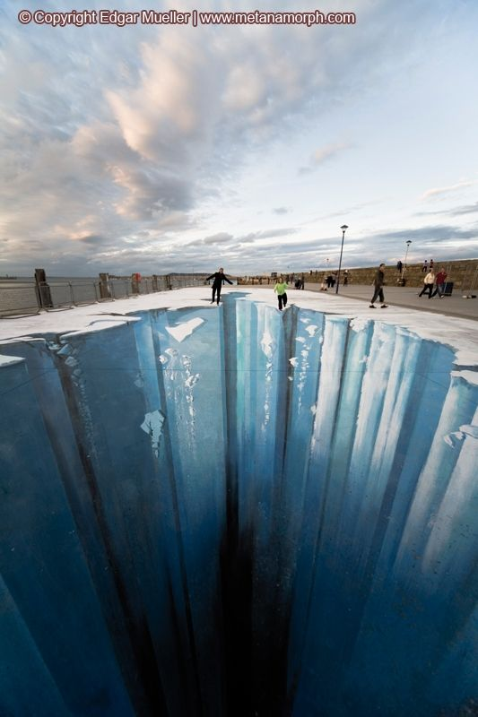 Ice Age. Incredible 3D painting (17 pics)