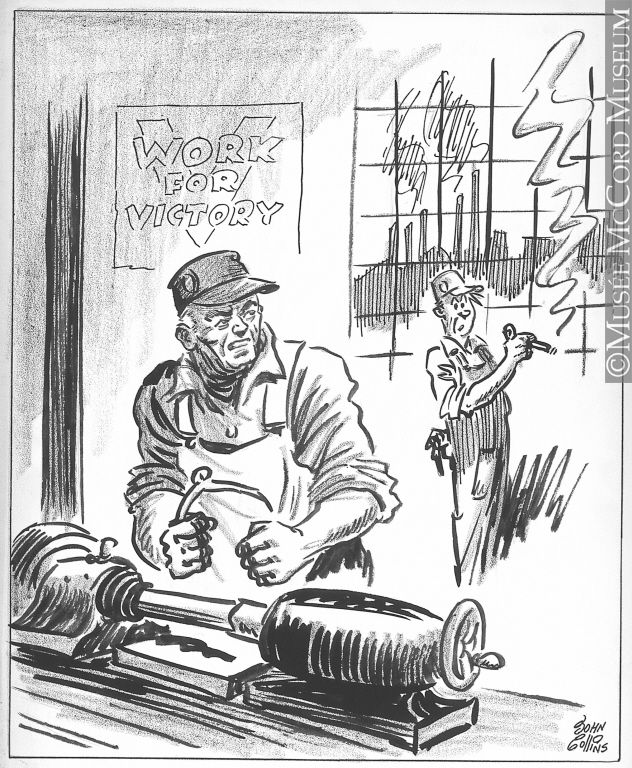 The Second World War in caricatures (32 pics)