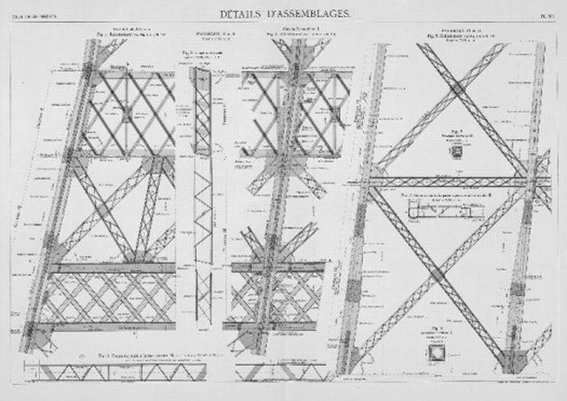 The Eiffel Tower construction (18 pics)