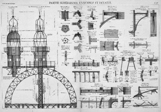 The Eiffel Tower construction (18 pics)
