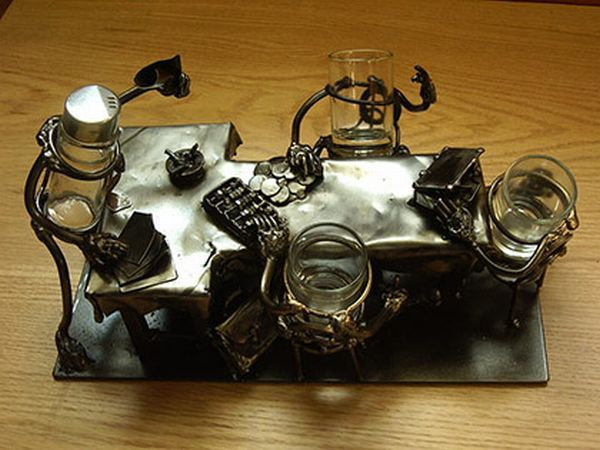 Hand made metallic objects (33 pics)