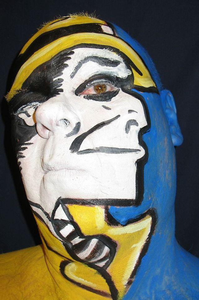 Amusing face painting (33 pics + 2 videos)
