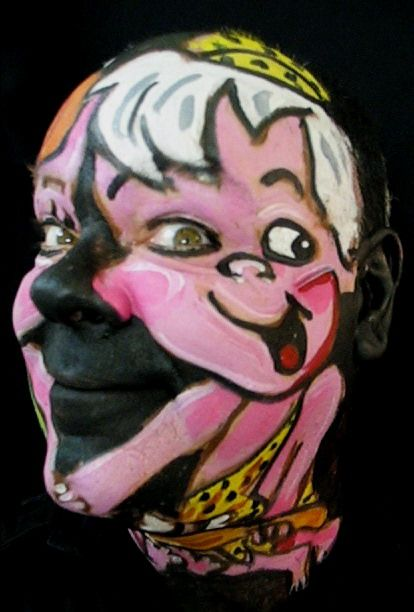 Amusing face painting (33 pics + 2 videos)