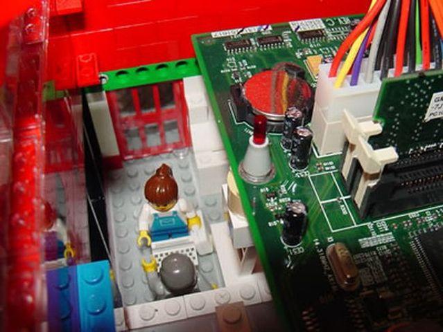 Lego-computer (26 pics)