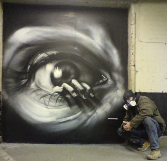 Amazing graffiti of painter TRANS (61 pics)