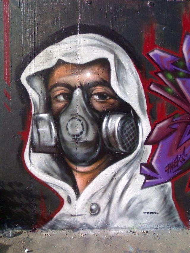 Amazing graffiti of painter TRANS (61 pics)